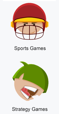 sports and strategy games