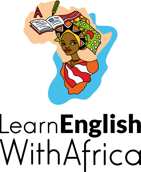 Learn English With Africa Logo, Selz, The Learn English With Africa Store, August 2017