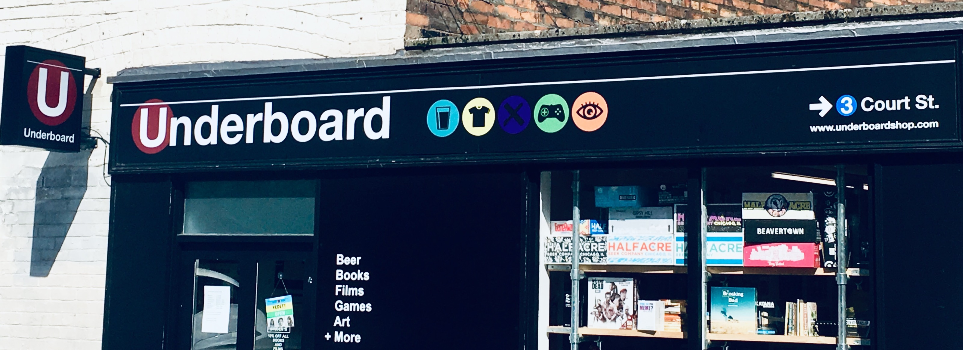 Image of Underboard shop front