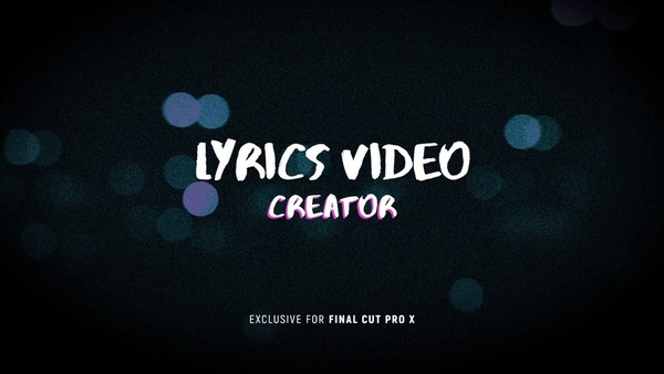 Lyrics Video Creator