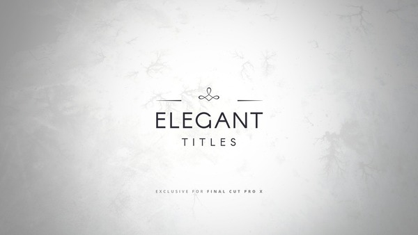 Elegant Titles