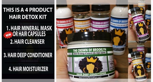 The Crown Of Brooklyn Hair Detox Kit 20% OFF SALE!