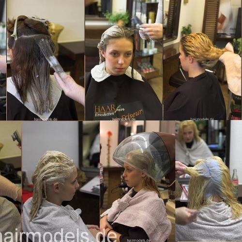 482 teens going blonde and brown