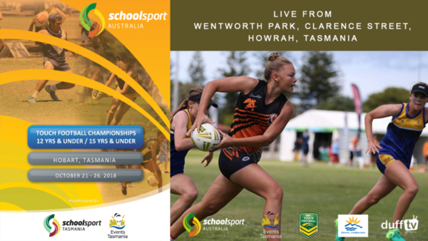 School Sport Australia Touch Football Championships 2018 - Duff TV Videos