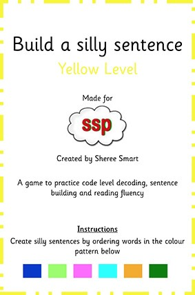yellow create a silly sentence ssp monster mapping store