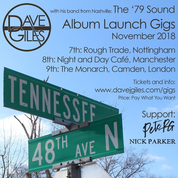 eTicket for: Tennessee and 48th Album Launch Gigs November 2018