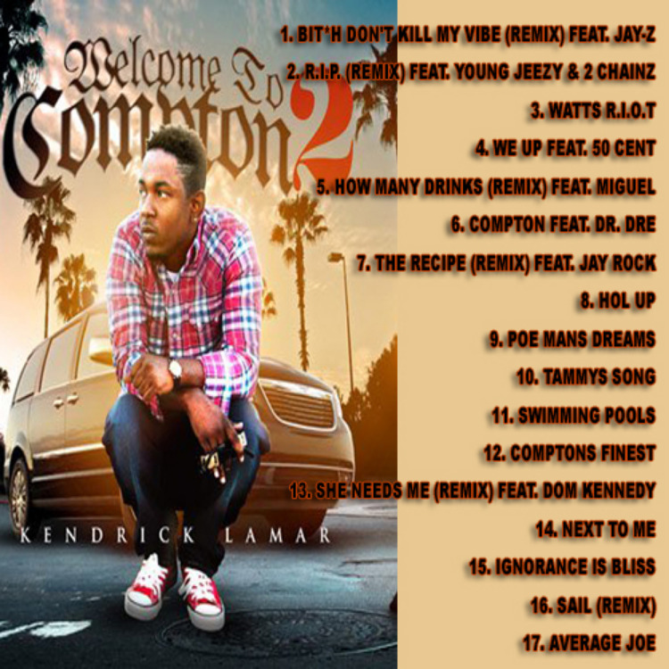 Best of Kendrick Lamar Welcome To Compton 2 Mix MP3 Download - PRESSUREMP3  Digital Downloads Store
