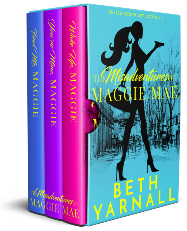 The Misadventures of Maggie Mae boxed set for Nook, iBooks, Google, & Kobo