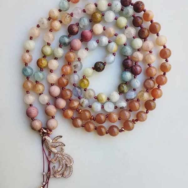 I am a Sun of Light | 108-Bead Mala (vegan)