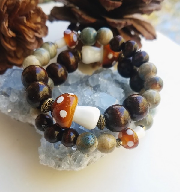 Forest Fresh | 1-piece stretch bracelet
