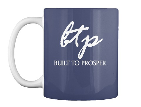 Built To Prosper Navy Blue Cup