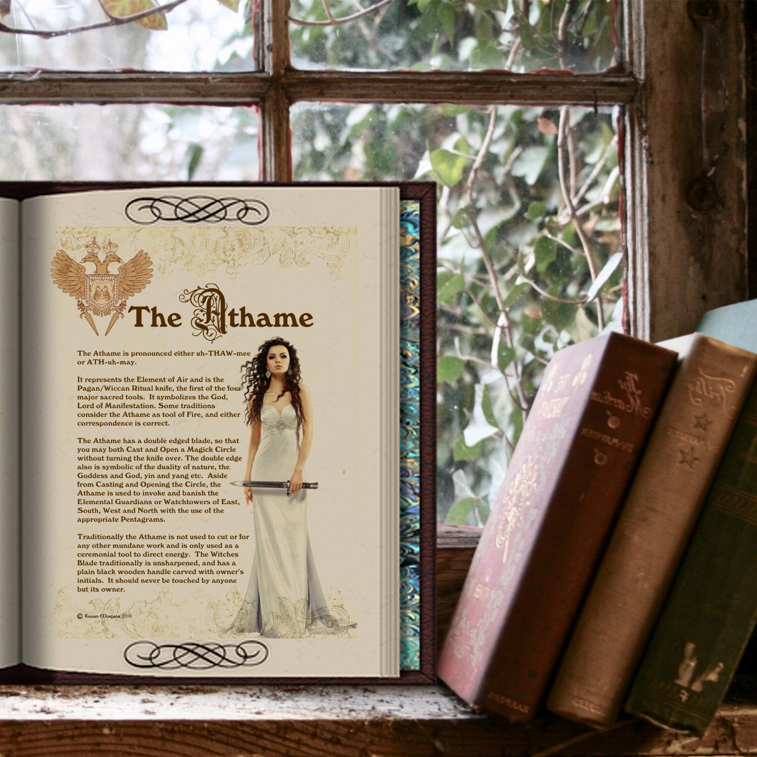 THE ATHAME - Morgana Magick Spell