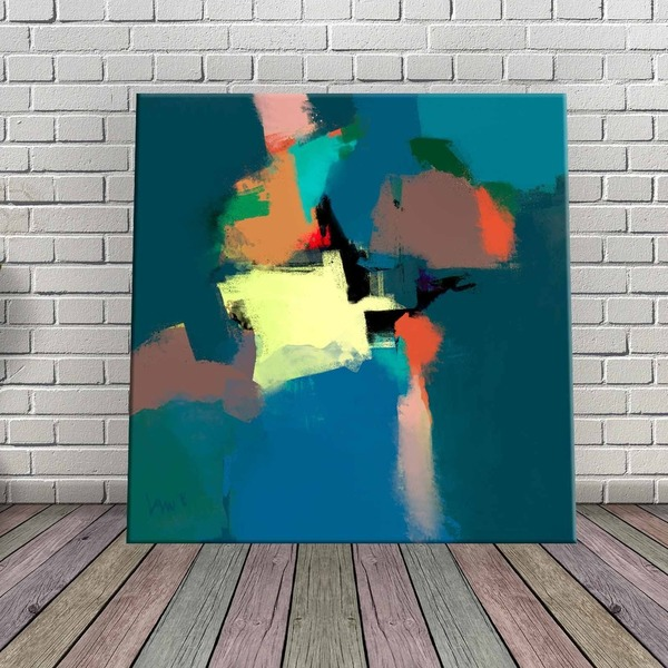 Square Abstract Instant Printable Art Pay What You Want