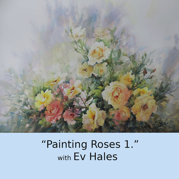 Painting Roses 1. Watercolour DVD