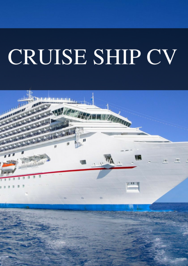 super yacht cv  resume and deluxe cv packages