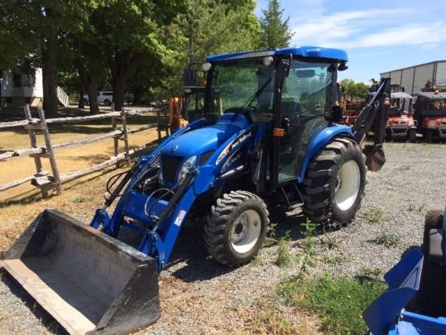 New Holland Tc35  Tc35d  Tc40  Tc40d  Tc45  Tc45d Tractor