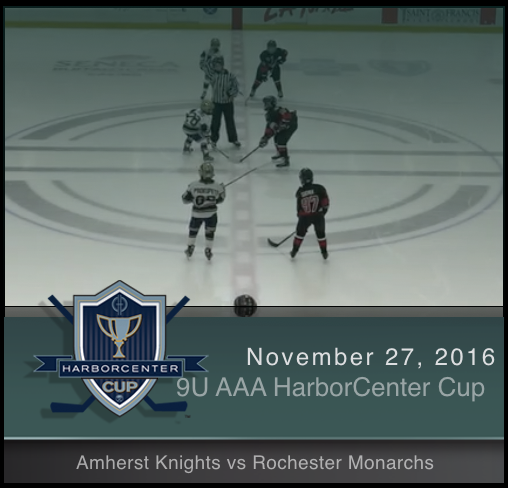 9U AAA Amherst Knights vs Rochester Monarchs