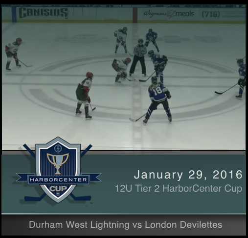 12U Tier 2 Durham West Lightning vs London Devilettes