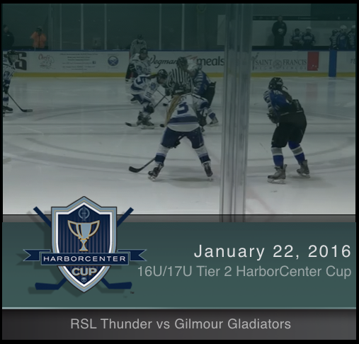 16U/17U Tier 2 Gilmour Gladiators vs RSL Thunder