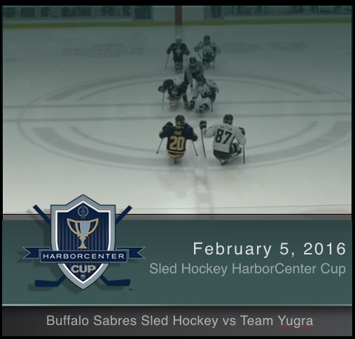 Buffalo Sabres Sled Hockey vs Team Yugra