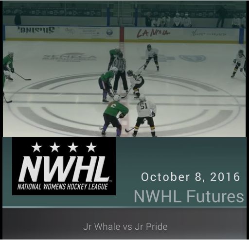 14U NWHL - Jr Pride vs Jr Whale