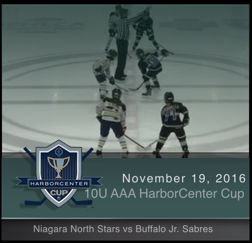 10U AAA Niagara North Stars vs Buffalo Jr. Sabres