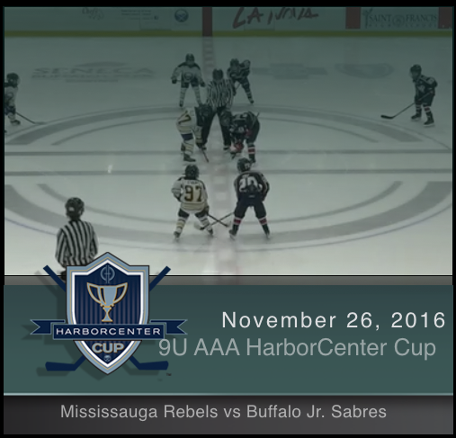 9U AAA Mississauga Rebels vs Buffalo Jr. Sabres