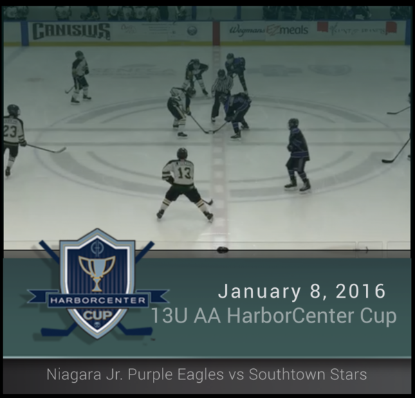 13U AA Blue Championship - Niagara Jr. Purple Eagles vs Southtowns Stars