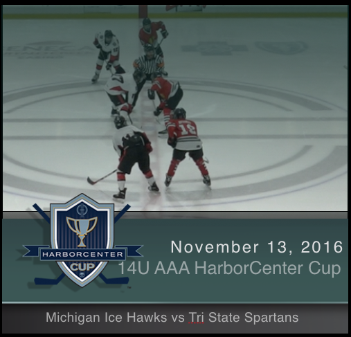 14U AAA Michigan Ice Hawks vs Tri State Spartans