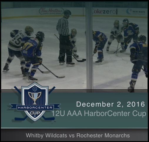 12U AAA Whitby Wildcats vs Rochester Monarchs