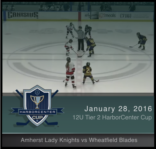 12U Tier 2 Wheatfield Blades vs Amherst Lady Knights