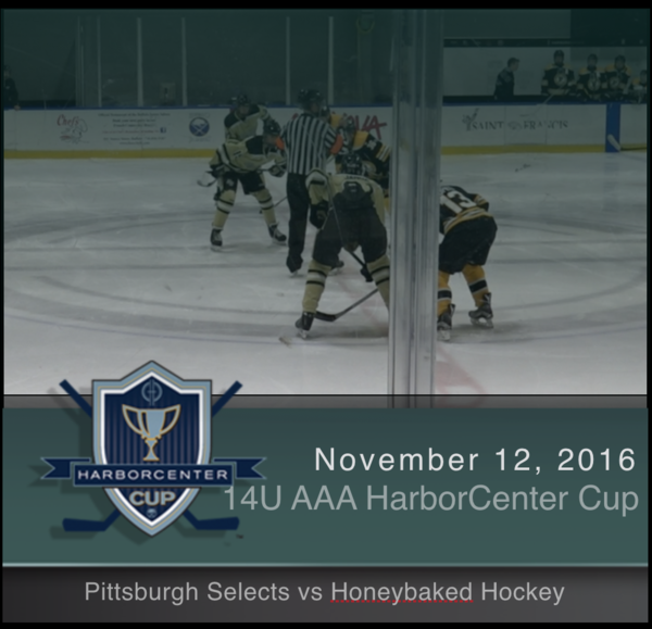 14U Pittsburgh Selects vs Honeybaked Hockey