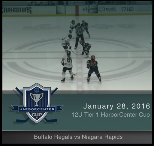 12U Tier 1 Buffalo Regals vs Niagara Rapids
