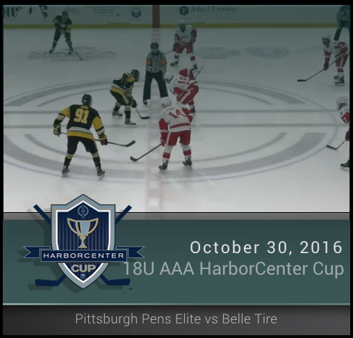 18U AAA Pittsburgh Penguins Elite vs Belle Tire (Championship)