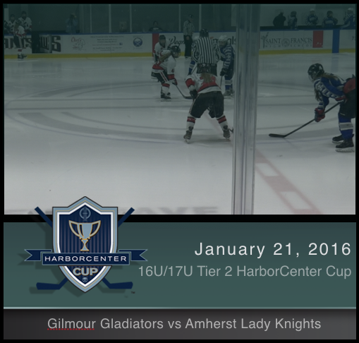 16U/17U Tier 2 Gilmour Gladiators vs Amherst Lady Knights
