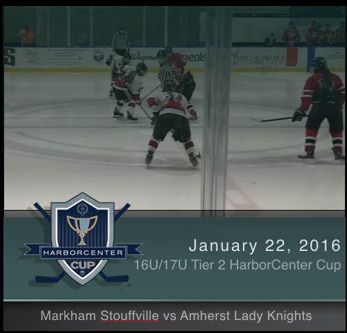 16U/17U Tier 2 Markham Stouffville vs Amherst Lady Knights