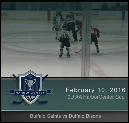 9U AA Buffalo Saints vs Buffalo Bisons