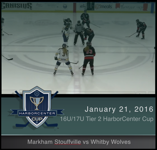 16U/17U Tier 2 Markham Stouffville vs Whitby Wolves