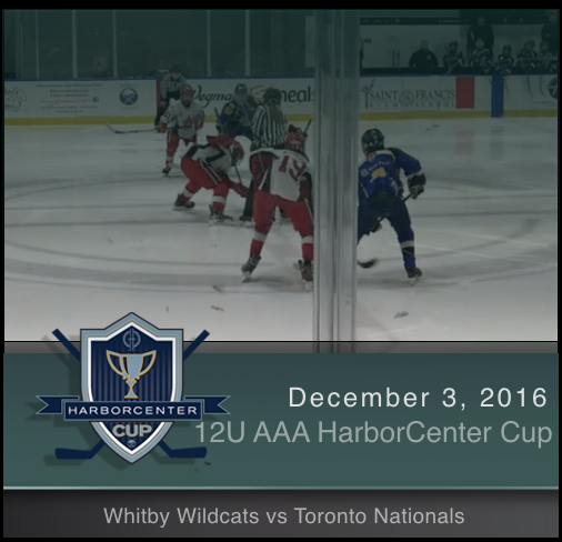 12U AAA Whitby Wildcats vs Toronto Nationals
