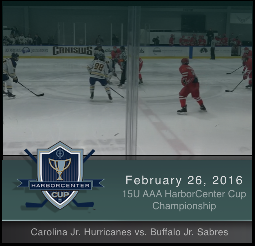 15U AAA Carolina Jr Hurricanes vs Buffalo Jr Sabres