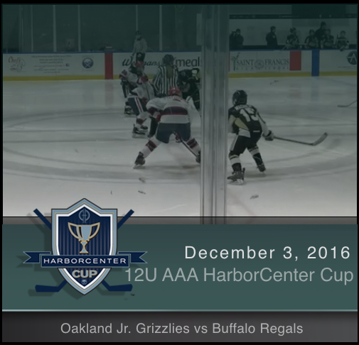 12U AAA Oakland Jr. Grizzlies vs Buffalo Regals