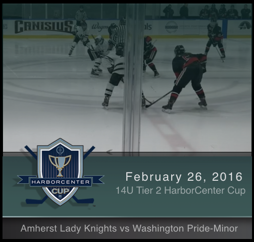 14U Tier 2 Amherst Lady Knights vs Washington Pride-Minor