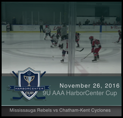 9U AAA Chatham-Kent Cyclones vs Mississauga Rebels
