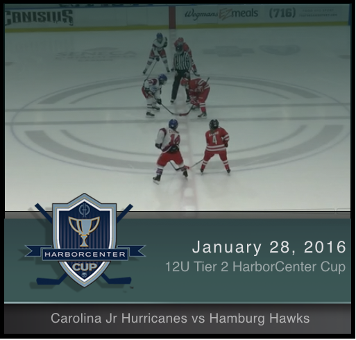 12U Tier 2 Carolina Jr. Hurricanes vs Hamburg Hawks