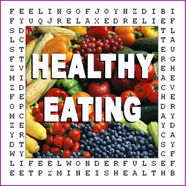 Healthy Eating Word Puzzle
