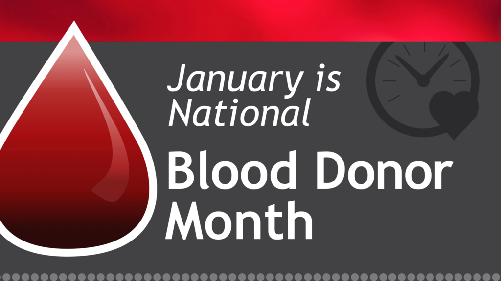 Image result for national blood donor month