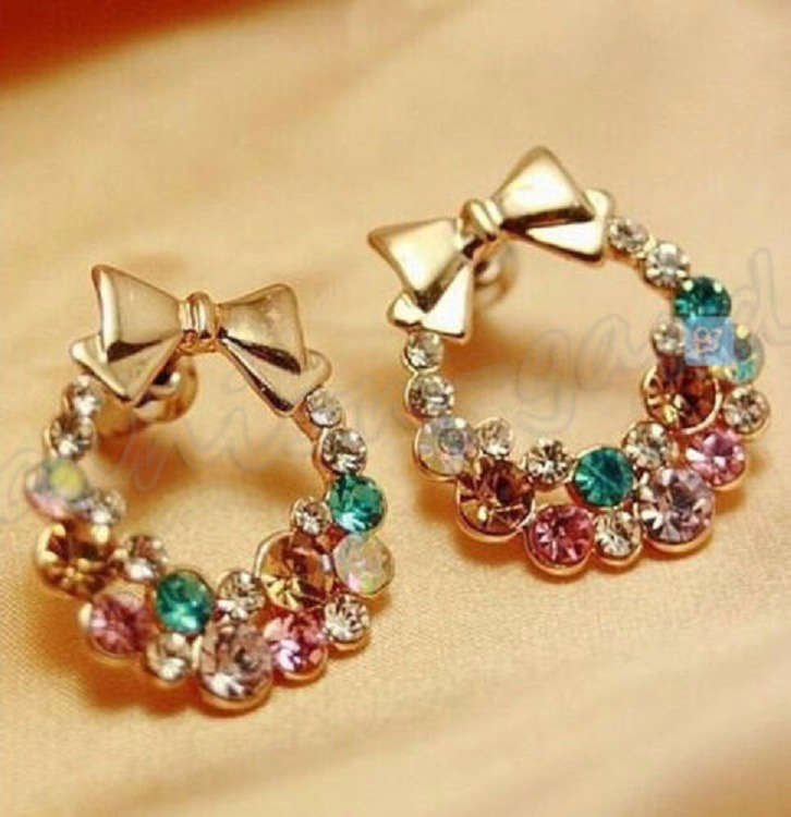Christmas Wreath Earrings Willow S Fashion Jewelry Gifts