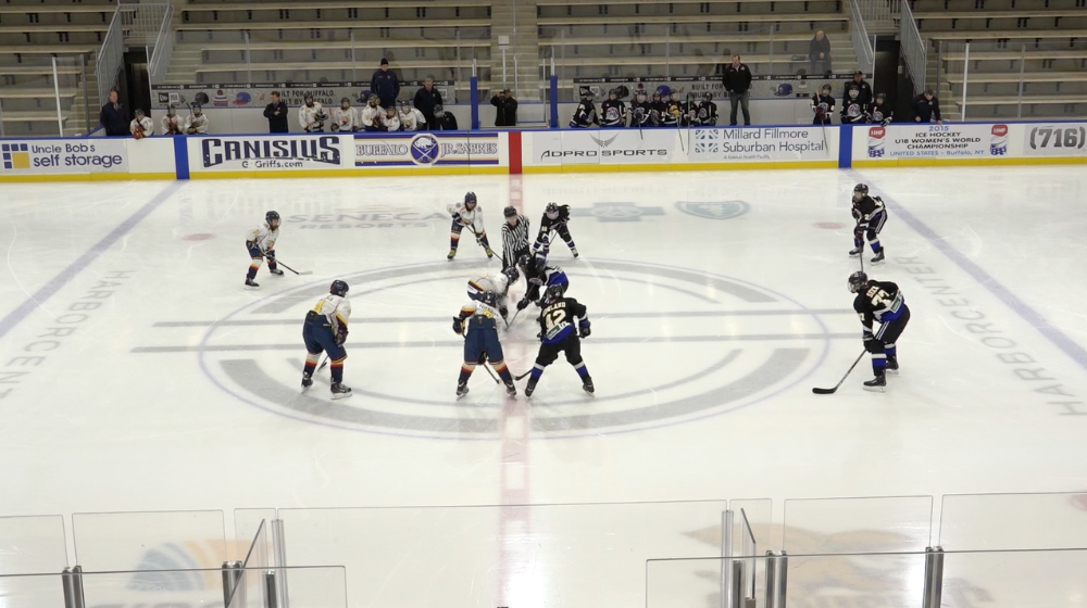 12U AAA Southern Tier Admirals vs Barrie Colts