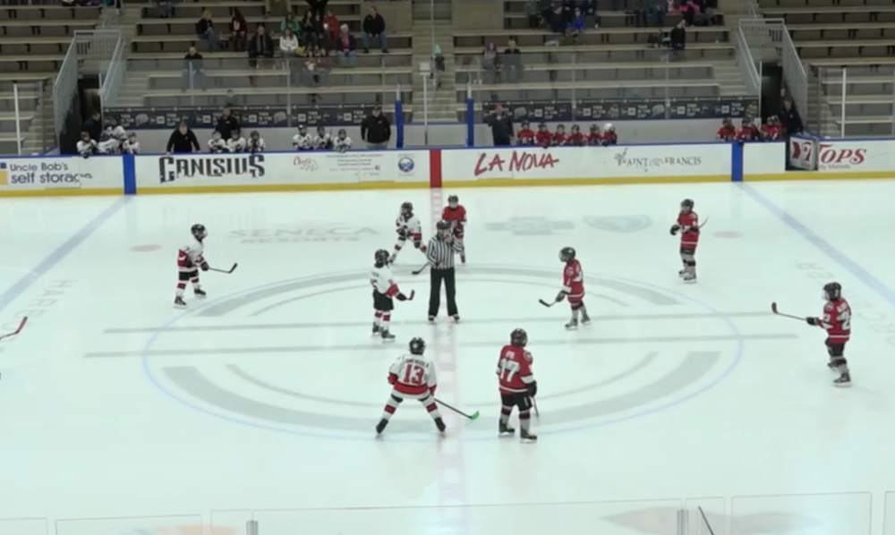 9U AAA - Amherst Knights vs Cleveland Barons