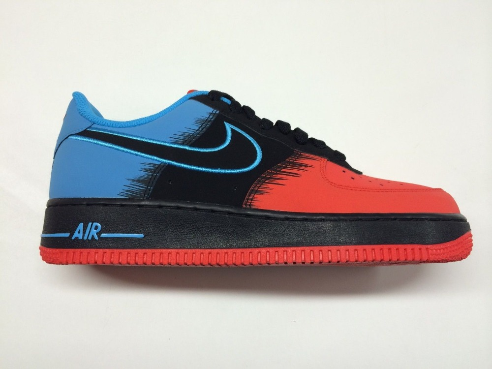 c681b84d4493b5 Nike Air Force 1 Low- Spiderman - ShoeBoss